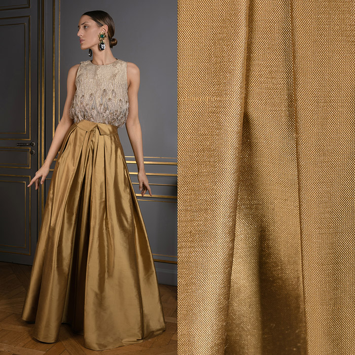 Exclusive bronze skirt
